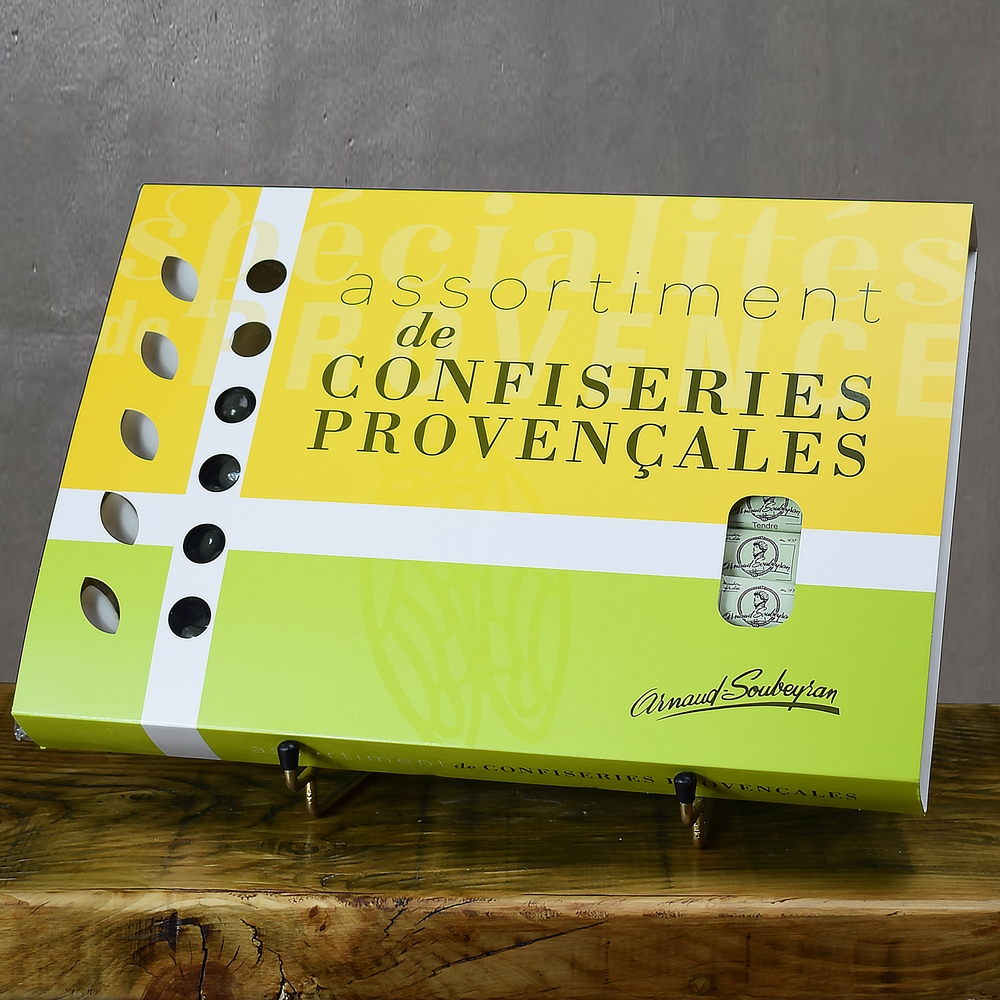 Fourreau assortiment de confiseries - 678gr