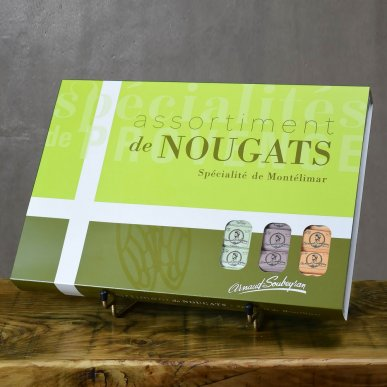 Fourreau assortiment de nougat - 756gr