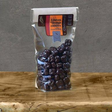 Raisins enrobés de chocolat noir - sachet 180gr