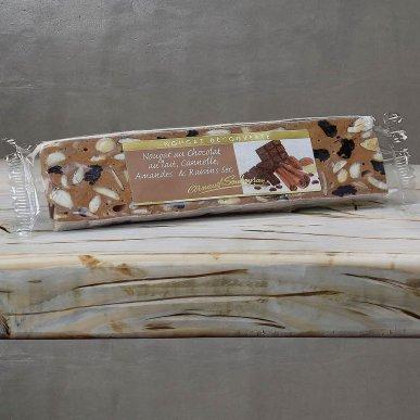 Nougat Chocolait Cannelle - barre 100gr