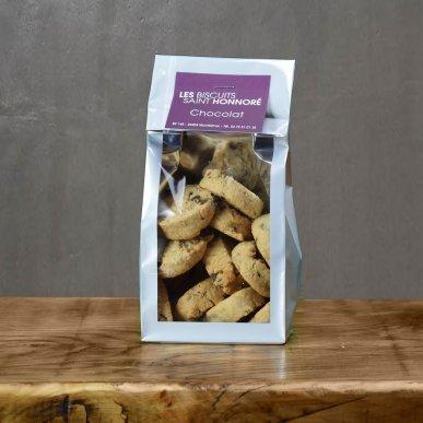 """""""Le gourmand"""" biscuit au beurre & Chocolat - sachet 140gr"""