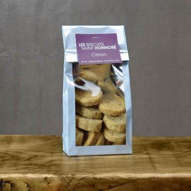 """""""L'audacieux"""" biscuit au beurre & Citron - sachet 140gr"""