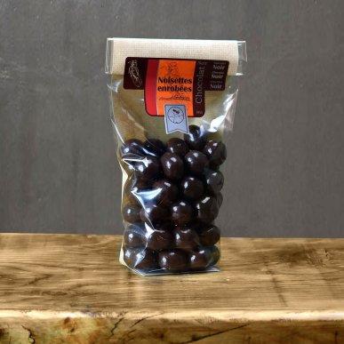 Noisette au chocolat noir - sachet 180gr