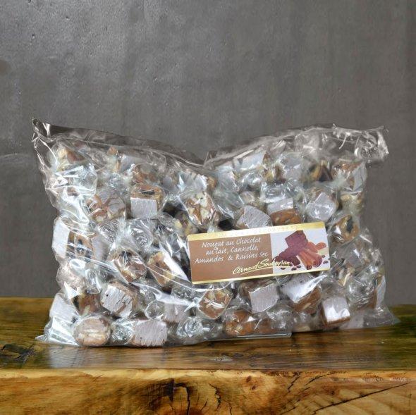 Nougat Chocolait Cannelle - vrac papillote 1kg