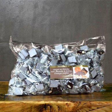 Nougat cacao et l'écorce d'orange confite - vrac 1kg