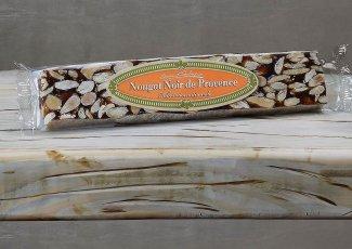 Nougat noir de Provence - barre 100gr