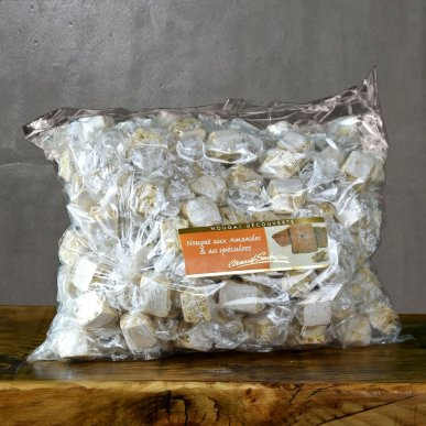 Nougat Speculoos - Vrac papillote 1kg