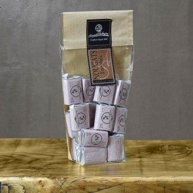 Nougat enrobé chocolat noir - sachet domino 200gr