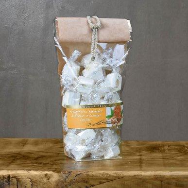Nougat blanc à l'écorce d'orange confite - sachet 200gr